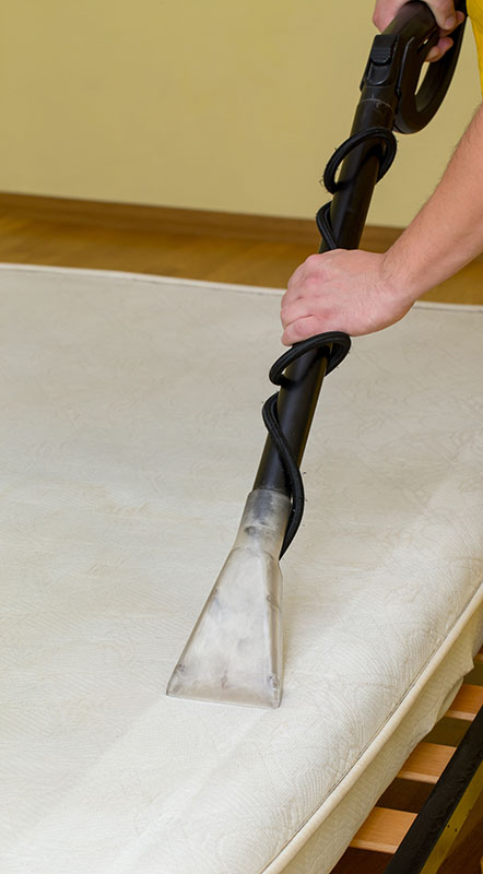steam cleaning mattress